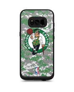 Boston Celtics Digi Camo LifeProof Fre Galaxy Skin