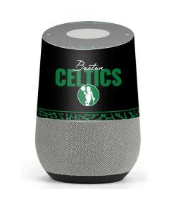 Boston Celtics Elephant Print Google Home Skin