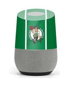 Boston Celtics Google Home Skin