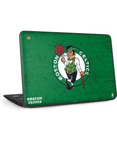Boston Celtics Green Primary Logo HP Chromebook Skin