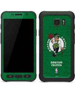 Boston Celtics Green Primary Logo Galaxy S7 Active Skin