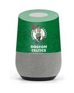 Boston Celtics Green Primary Logo Google Home Skin