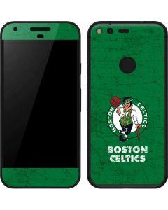 Boston Celtics Green Primary Logo Google Pixel Skin