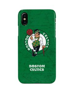 Boston Celtics Green Primary Logo iPhone XS Max Lite Case
