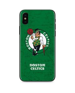 Boston Celtics Green Primary Logo iPhone XS Skin