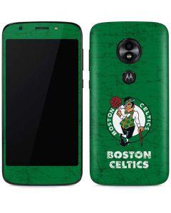Boston Celtics Green Primary Logo Moto E5 Play Skin
