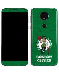 Boston Celtics Green Primary Logo Moto E5 Plus Skin