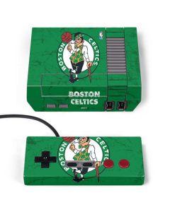 Boston Celtics Green Primary Logo NES Classic Edition Skin