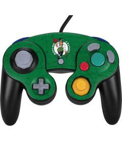 Boston Celtics Green Primary Logo Nintendo GameCube Controller Skin
