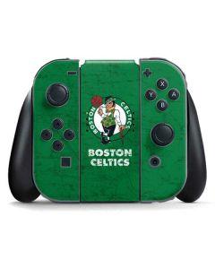Boston Celtics Green Primary Logo Nintendo Switch Joy Con Controller Skin