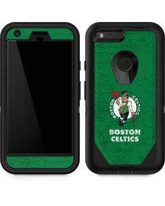 Boston Celtics Green Primary Logo Otterbox Defender Pixel Skin
