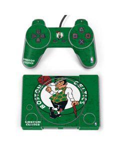 Boston Celtics Green Primary Logo PlayStation Classic Bundle Skin