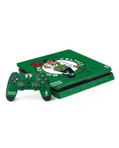 Boston Celtics Green Primary Logo PS4 Slim Bundle Skin