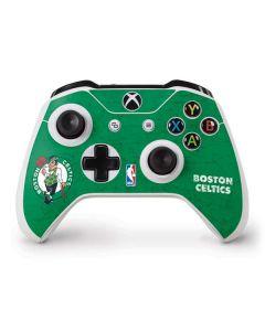 Boston Celtics Green Primary Logo Xbox One S Controller Skin