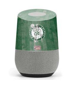 Boston Celtics Hardwood Classics Google Home Skin