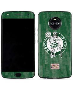 Boston Celtics Hardwood Classics Moto X4 Skin