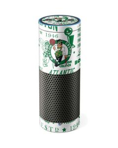 Boston Celtics Historic Blast Amazon Echo Skin