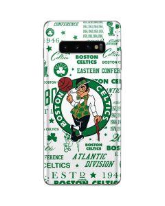 Boston Celtics Historic Blast Galaxy S10 Plus Skin