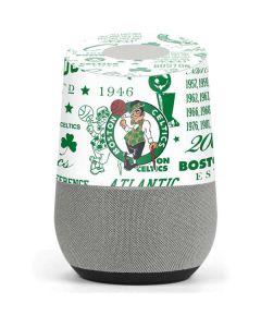 Boston Celtics Historic Blast Google Home Skin