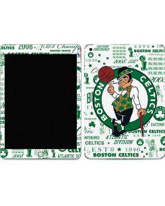 Boston Celtics Historic Blast Apple iPad Skin