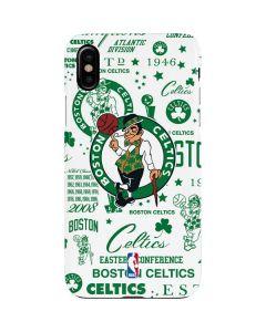 Boston Celtics Historic Blast iPhone XS Max Lite Case
