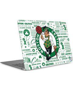 Boston Celtics Historic Blast Apple MacBook Air Skin