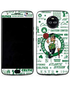 Boston Celtics Historic Blast Moto X4 Skin