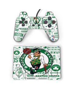 Boston Celtics Historic Blast PlayStation Classic Bundle Skin