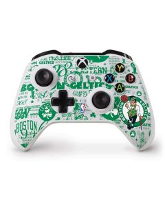 Boston Celtics Historic Blast Xbox One S Controller Skin