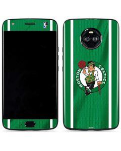 Boston Celtics Moto X4 Skin