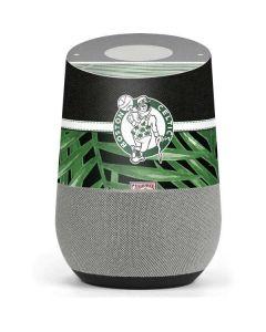 Boston Celtics Retro Palms Google Home Skin