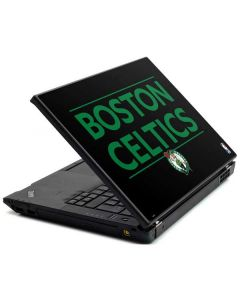 Boston Celtics Standard - Black Lenovo T420 Skin