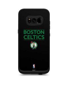 Boston Celtics Standard - Black LifeProof Fre Galaxy Skin