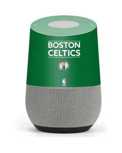 Boston Celtics Standard - Green Google Home Skin