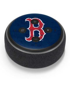 Boston Red Sox - Solid Distressed Amazon Echo Dot Skin