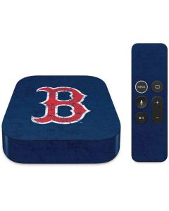 Boston Red Sox - Solid Distressed Apple TV Skin