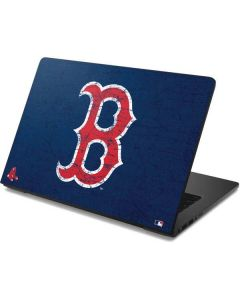 Boston Red Sox - Solid Distressed Dell Chromebook Skin