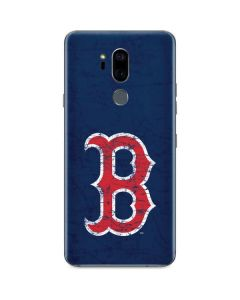 Boston Red Sox - Solid Distressed G7 ThinQ Skin
