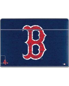 Boston Red Sox - Solid Distressed Galaxy Book Keyboard Folio 12in Skin