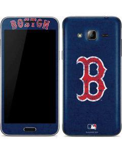 Boston Red Sox - Solid Distressed Galaxy J3 Skin