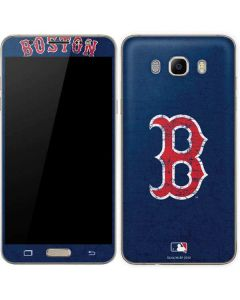Boston Red Sox - Solid Distressed Galaxy J7 Skin