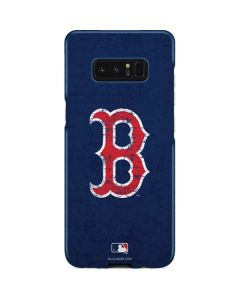 Boston Red Sox - Solid Distressed Galaxy Note 8 Lite Case