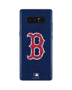 Boston Red Sox - Solid Distressed Galaxy Note 8 Skin
