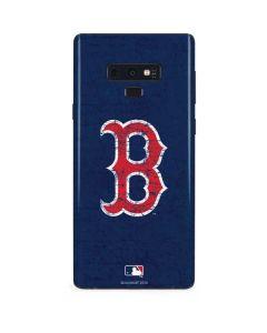 Boston Red Sox - Solid Distressed Galaxy Note 9 Skin