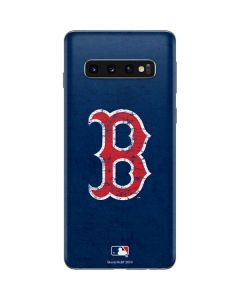 Boston Red Sox - Solid Distressed Galaxy S10 Skin