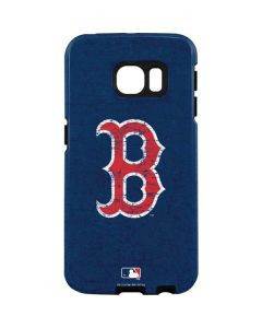 Boston Red Sox - Solid Distressed Galaxy S7 Edge Pro Case
