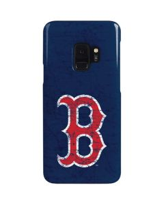 Boston Red Sox - Solid Distressed Galaxy S9 Lite Case