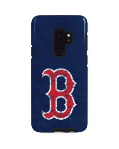 Boston Red Sox - Solid Distressed Galaxy S9 Plus Pro Case