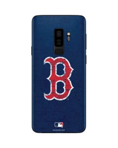 Boston Red Sox - Solid Distressed Galaxy S9 Plus Skin