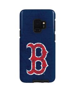 Boston Red Sox - Solid Distressed Galaxy S9 Pro Case